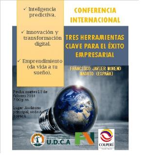 Conferencia Internacional: Big Data, Small Data y Emprendimiento