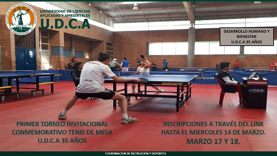 Primer torneo invitacional interuniversitario de tenis de mesa universidad de ciencias - Torneo tenis de mesa ...