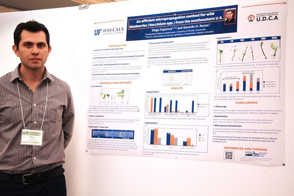 Estudiante destacado del Programa de Ingeniería Agronómica