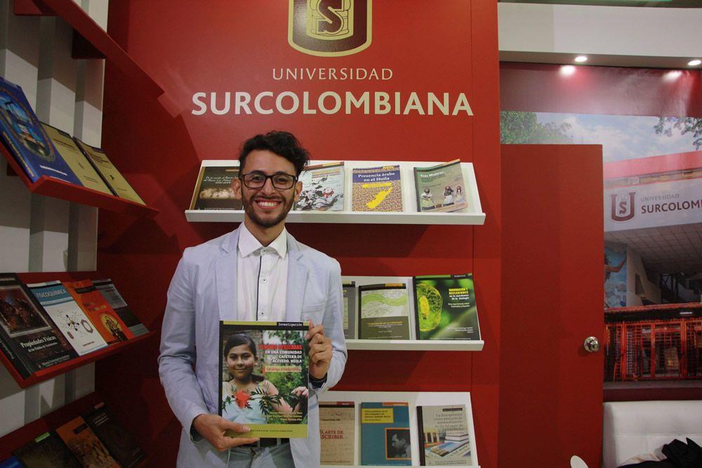 Egresado de la Maestría en Ciencias Ambientales lanza libro en la FILBO 2018