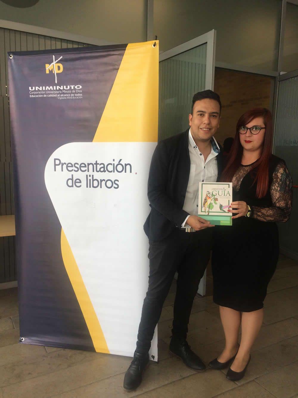 Egresado y estudiante de la Maestría en Ciencias Ambientales lanzan libro en la FILBO 2018