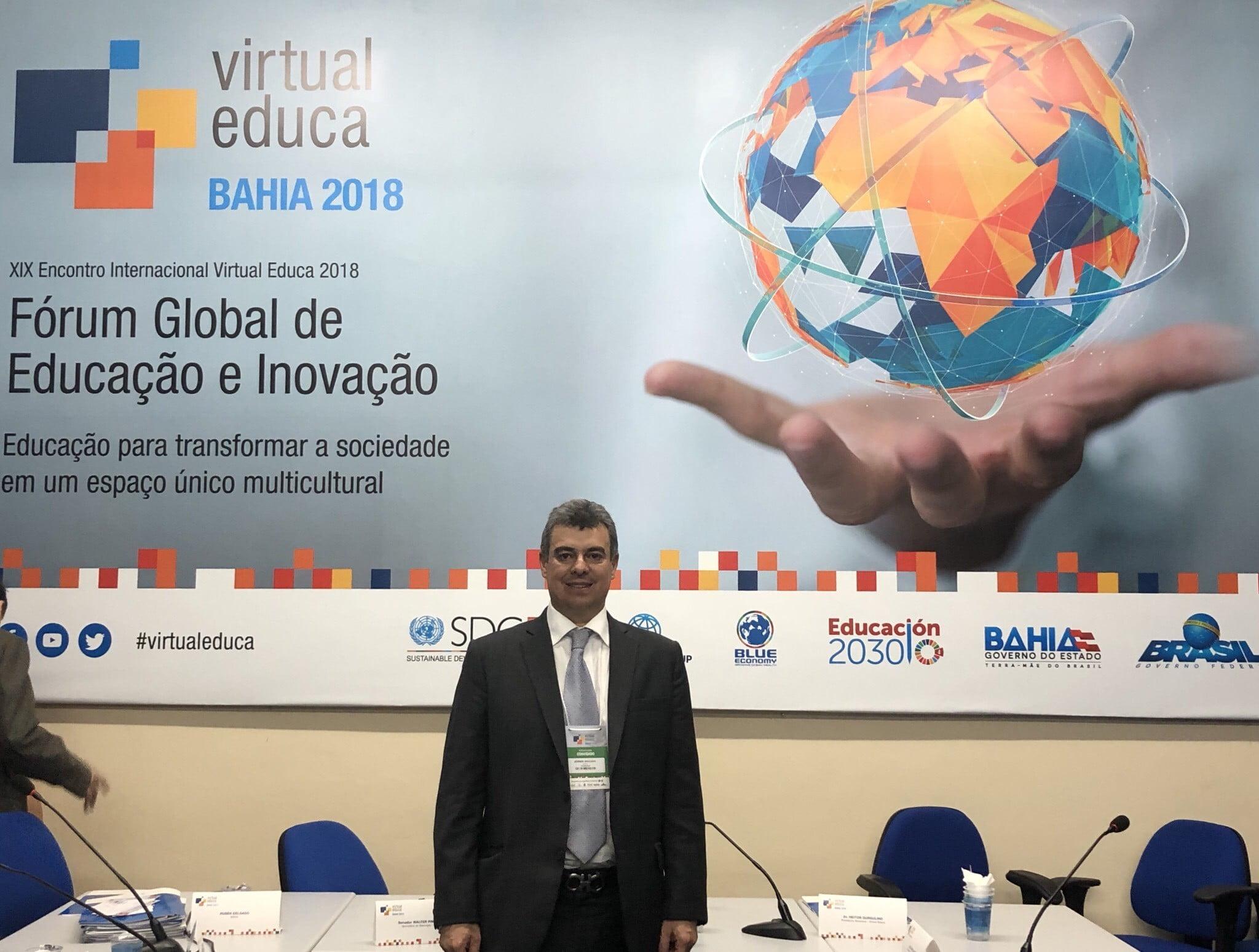 La U.D.C.A y AUALCPI participan en el XIX Encuentro Internacionalde Virtual Educa 2018