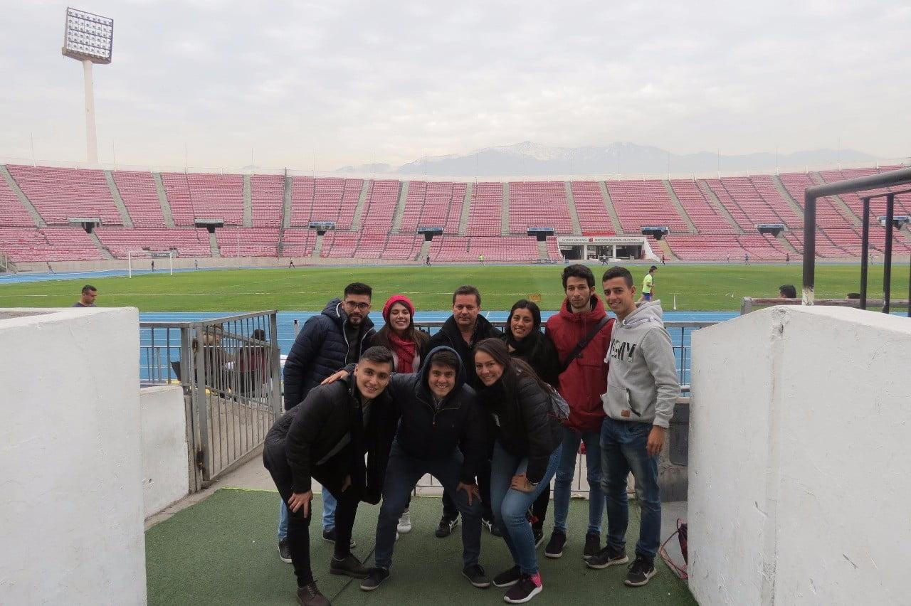 Misión Académica Programa de Ciencias del Deporte a Chile