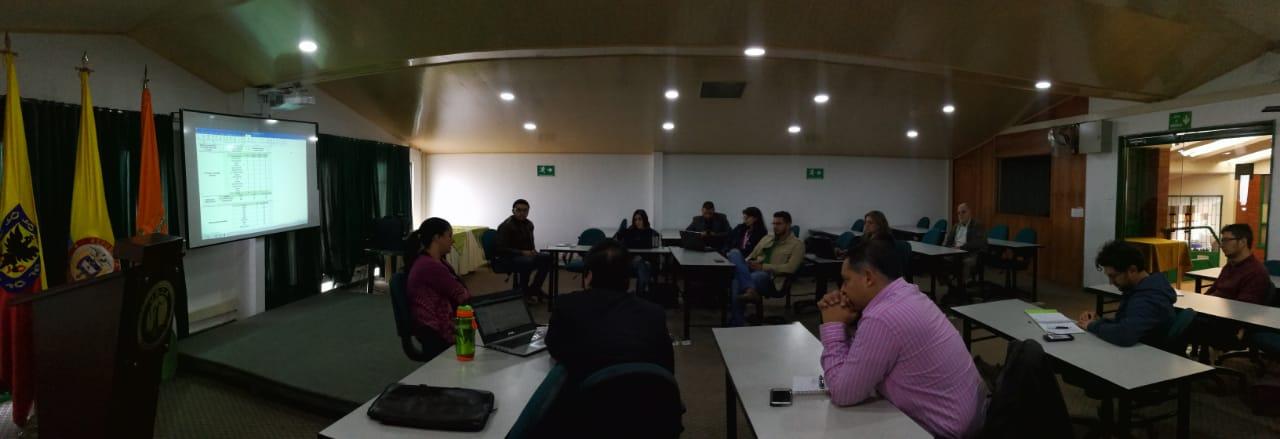 Primera Reunión con Puntos Focales de Internacionalización 2018-II
