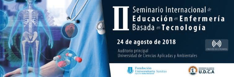 """II seminario Internacional de Educación en Enfermería Basada en Tecnología """""""