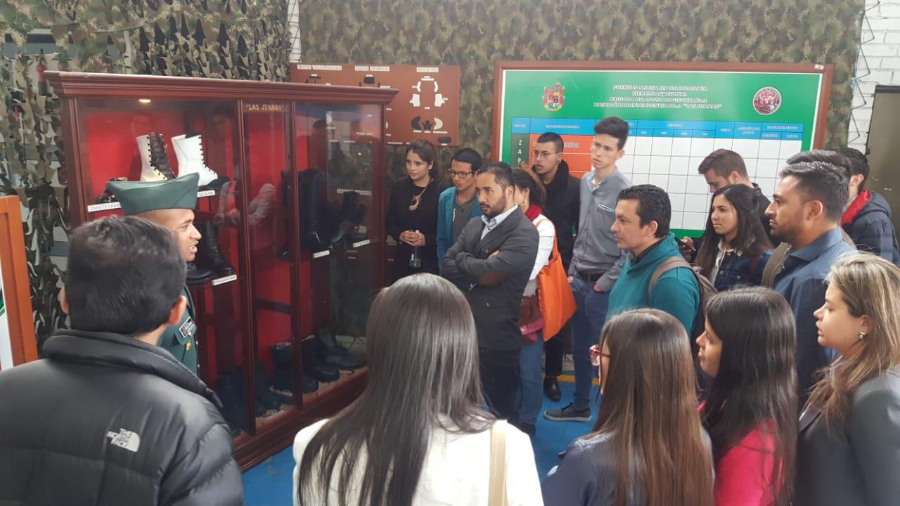 Visita técnica al batallón de intendencia No 1 Las Juanas