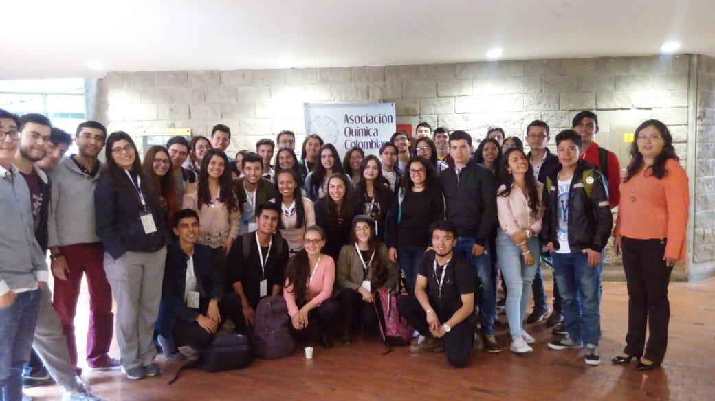 Estudiantes de Química participan en el Primer Encuentro Bogotano de Química (EBQUI)