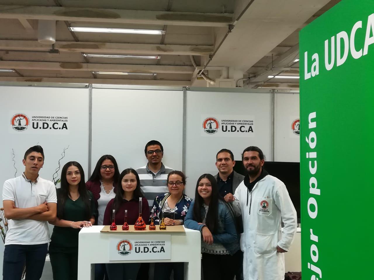 La Facultad de Ciencias en Expociencia 2018 Expotecnología