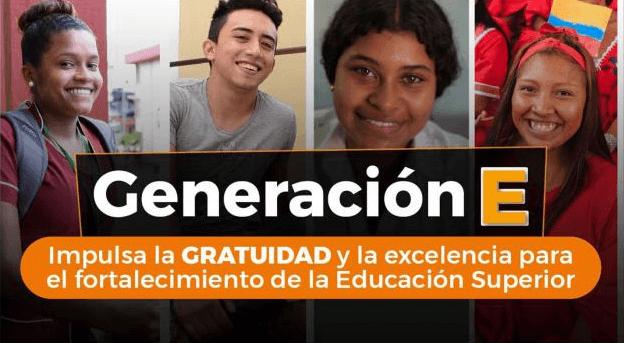 La U.D.C.A hace parte de la Generación E