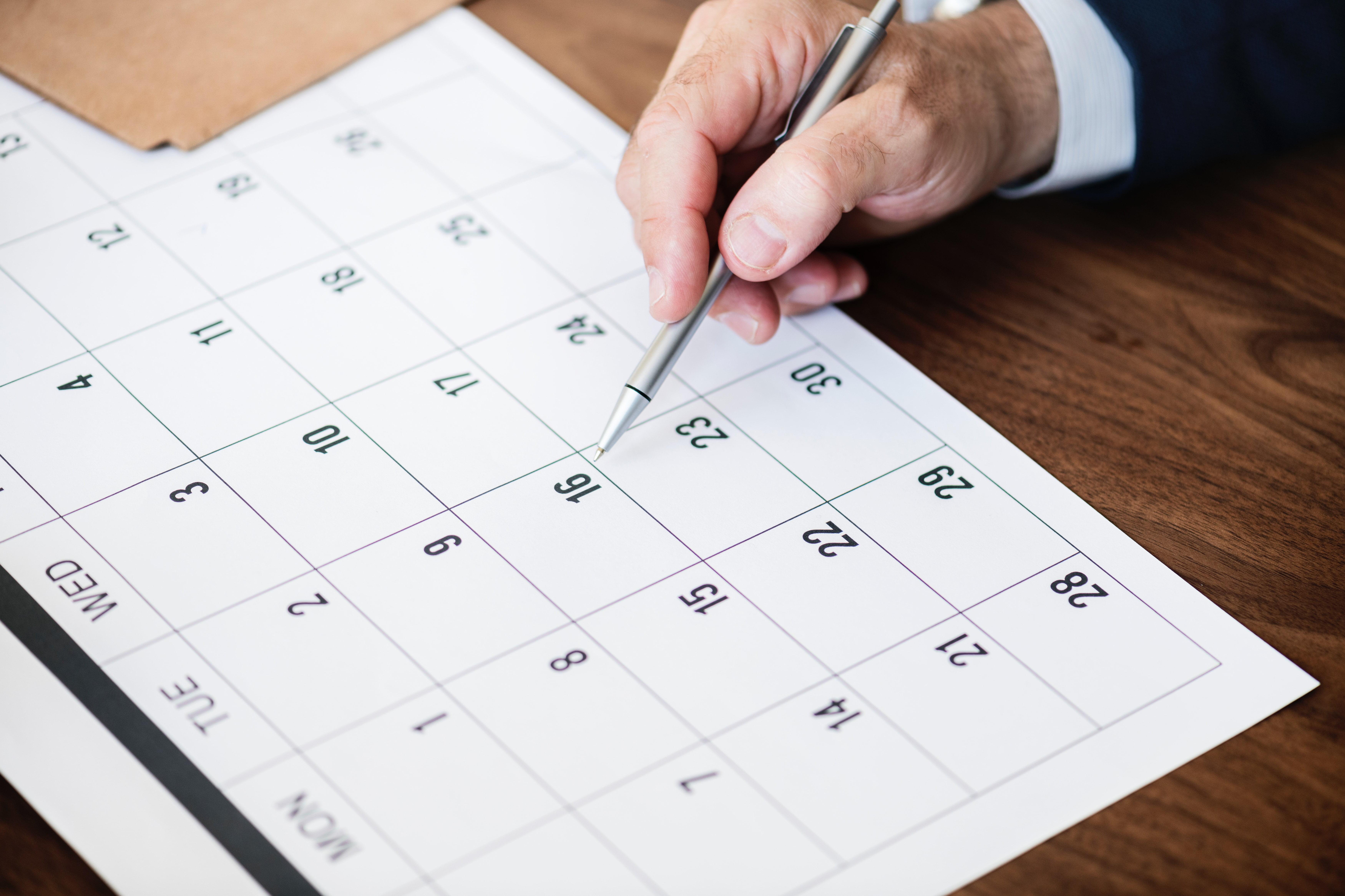 Calendario Académico 2019 U.D.C.A.
