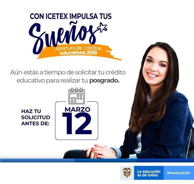 Anímate!!! Estudia el Posgrado que sueñas – ICETEX