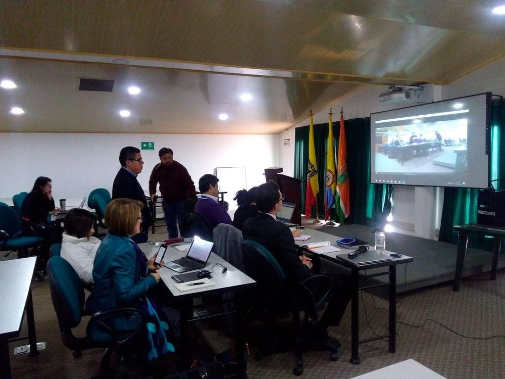 Reunión de Cooperación U.D.C.A – Universidad de Guadalajara