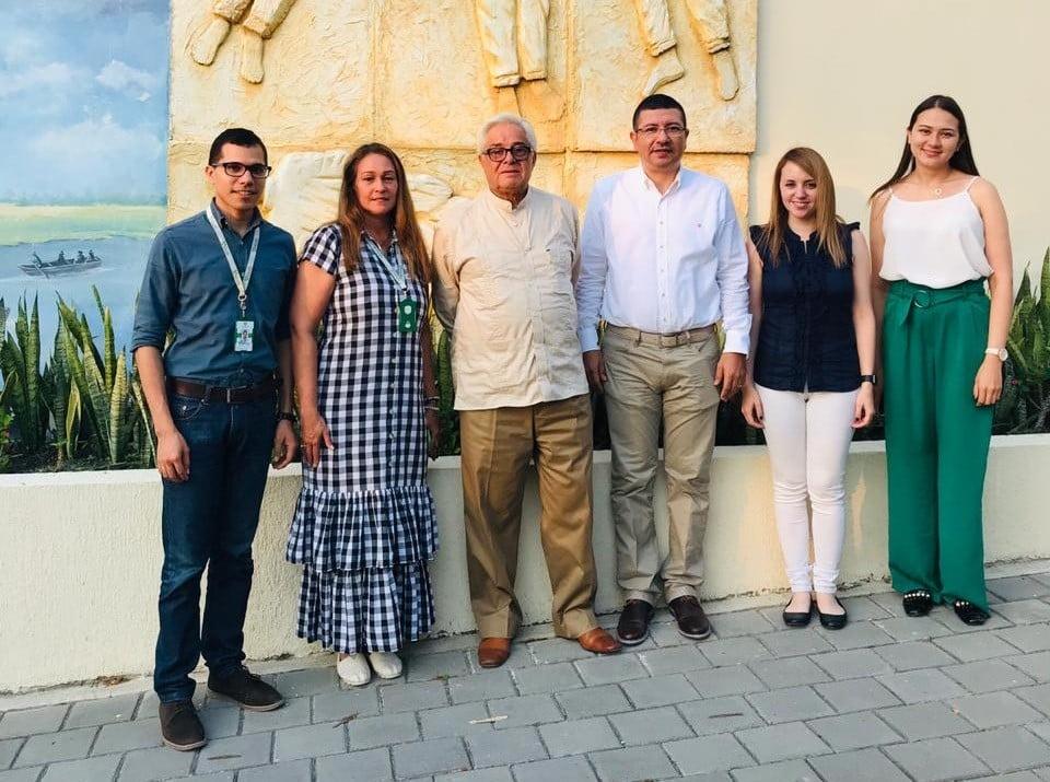 U.D.C.A y AUALCPI visitaron a la Corporación Universitaria del Caribe –CECAR-
