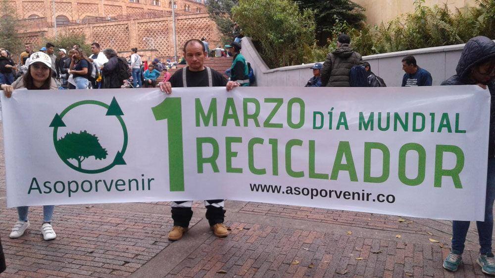 Celebración día mundial del reciclador
